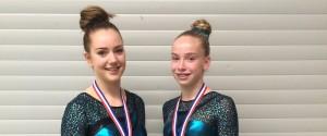 Twee zilveren medailles bij het Toernooi Turnschool Rijssen