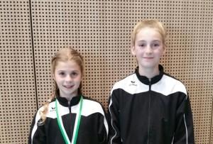 Twee medailles voor turnsters derde divisie