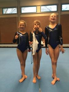 2 medailles op het Turnschool Rijssen Toernooi!